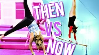 High School VS Now Gymnastics!
