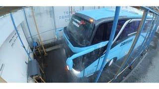 Video last stage bus body at caroseries | bus rain test | leak test | adiputro bus plant download MP3, 3GP, MP4, WEBM, AVI, FLV November 2017