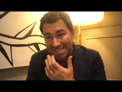 '50/50 IS THE DEAL THAT'LL PROBABLY GET OVER THE LINE' - EDDIE HEARN ON JOSHUA/WILDER/FURY & GARCIA
