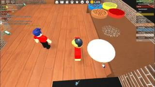 MiniNova Reviews All jobs at work at a pizza place-Roblox 2017