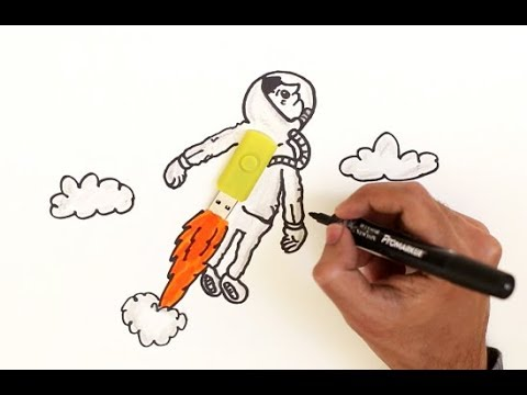 How to Make ASTRONAUT using USB ! EVERYDAY Objects Turned ...