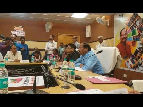 CM JHARKHAND RAGHUBAR DAS KI JANTA SE SIDHI BAT AT SOOCHNA BHAWAN #RANCHI