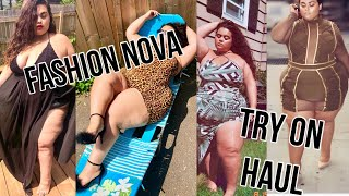 PLUS SIZE FASHION NOVA TRY ON HAUL {GABRIELLAGLAMOUR}