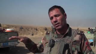 بي بي سي على الخطوط الأمامية في الخازر قرب الموصل
