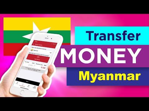 Transfer Money Online To Myanmar - eRemit App (Burmese)