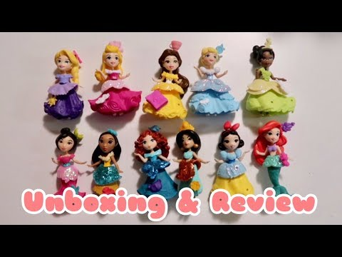 Disney Princess Little Kingdom Collection Set From Toys R Us | Jovie's Fun World