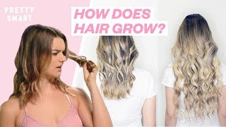 How Fast Does Your Hair REALLY Grow? | PRETTY SMART