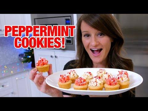 Making Peppermint Thumbprints + BAKING CHALLENGE!