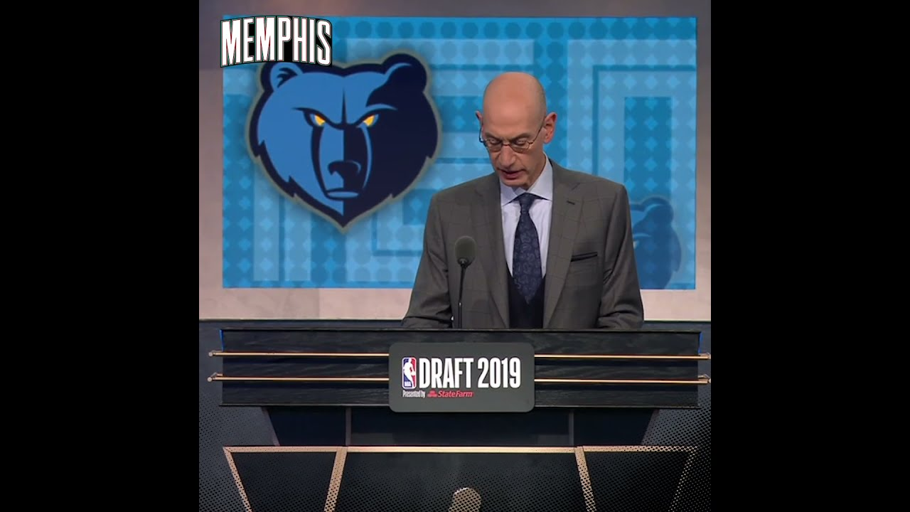 #GrizzOTD: Ja Morant Drafted #2 to Memphis Grizzlies