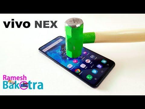 Vivo Nex Screen Scratch Test Gorilla Glass 5