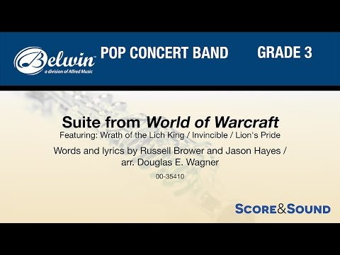 Suite from World of Warcraft, arr. Douglas E. Wagner – Score & Sound