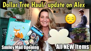 Dollar Tree Haul 💥NEW💥 Update on Alex😔/ Smiley Mail Opening thumbnail