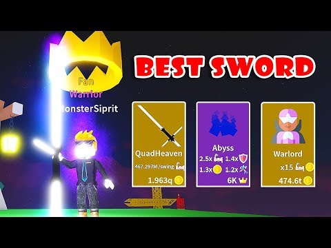 BUYING THE BEST WEAPONS + DNA & UNLOCK GODLY CLASS WARLORD In SABER SIMULATOR! [Roblox]