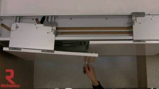 Richelieu Hardware - Slide Over Door System