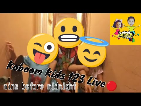 (Kaboom Kids 123) Live Minutes Before Midnight