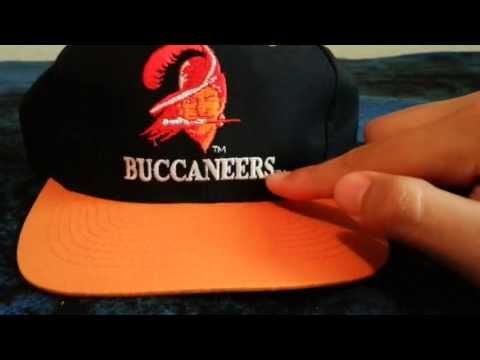 Vintage Logo 7 Tampa Bay Buccaneers Snapback Unbox