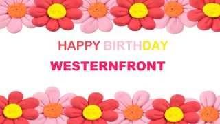 Westernfront   Birthday Postcards & Postales