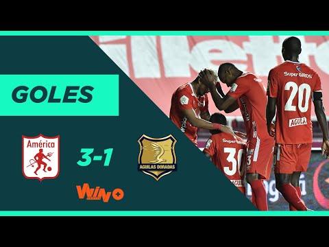 América vs Águilas Doradas (3-1) Liga BetPlay Dimayor 2020 | Fecha 11