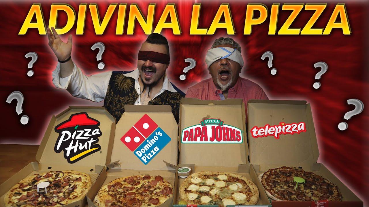 ADIVINA la PIZZA FAST FOOD con @La Cocina Del Pirata **A CIEGAS** | Pino Prestanizzi