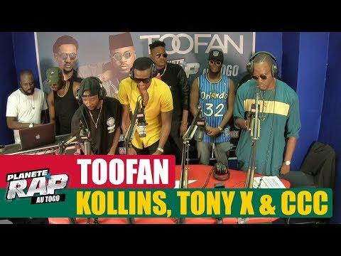 Toofan, Kollins, Tony X & CCC #PlanèteRapAuTogo