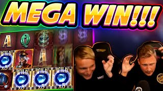 MEGA WIN! Riders of the Storm BIG WIN - HUGE WIN on new slot from Thunderkick