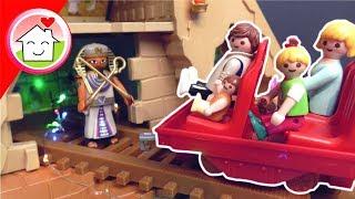 Playmobil Film Familie Hauser - Der Schatz des Pharao - Freizeitpark Video für Kinder