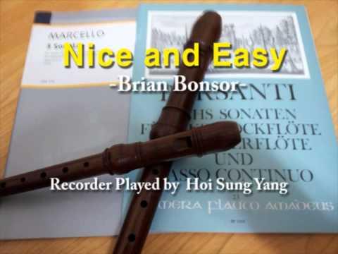 [리코더연주] Nice and Easy - Brian Bonsor