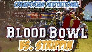 BLOOD BOWL 2 Teiko Dwarfschool vs Strippin