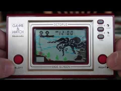 Game & Watch: Octopus - GAMEPLAY