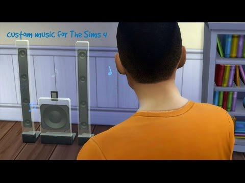 Cheat: How to add custom music to The Sims 4!