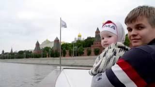 видео Речной круиз по Москве - Флотилия Рэдиссон Ройал, Москва