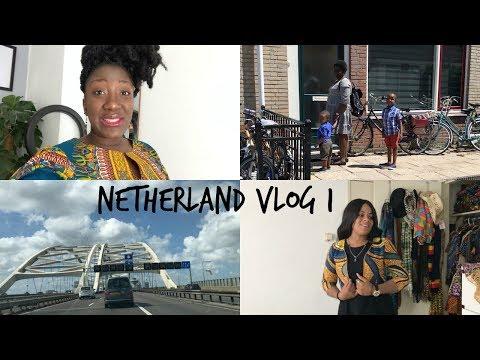 Netherland Vlog 1 : Africanprint closet || Meet my bestfriend & my Brothers kids || Adede