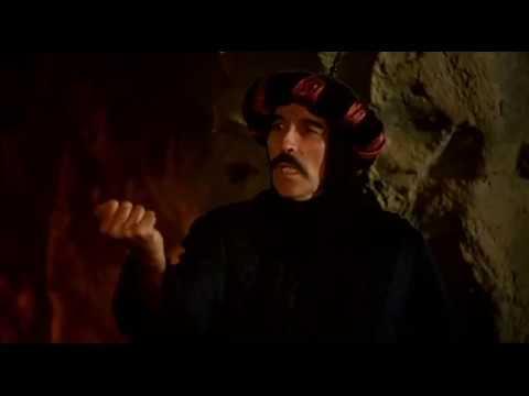 Random Movie Pick - Uma Aventura na Árabia (1979) Christopher Lee Dublagem Clássica Herbert Richers YouTube Trailer