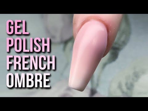 How to Create a French Ombre with Gel Polish