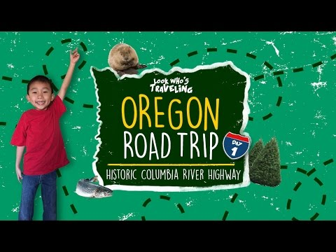 Historic Columbia River Highway & Multnomah Falls (Things to do in Oregon): Look Who's Traveling