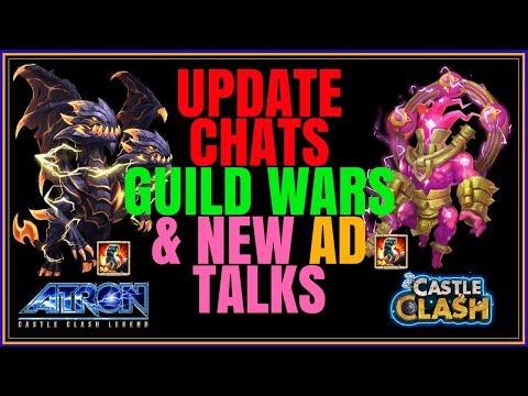 UPDATE GUILD WARS CHAT + AD STRAT TALKS - CASTLE CLASH