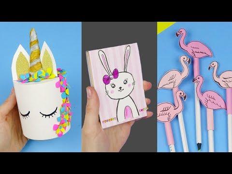 7-diy-school-supplies-|-easy-diy-paper-crafts-for-school