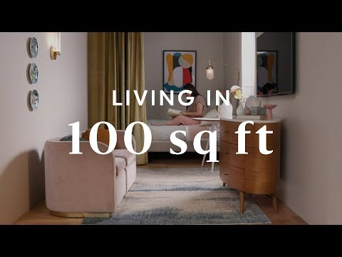 Living In 100 Square Feet You