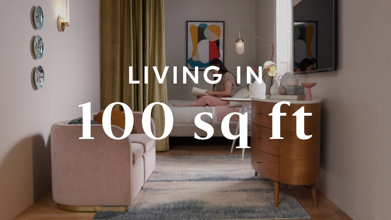 Living In 100 Square Feet Youtube