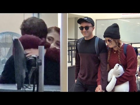 Meghan Trainor And Boyfriend Daryl Sabara  PDA And Smile About Marriage