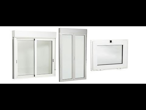 5 dise os de ventanas de aluminio modernas youtube for Ventanas de aluminio economicas