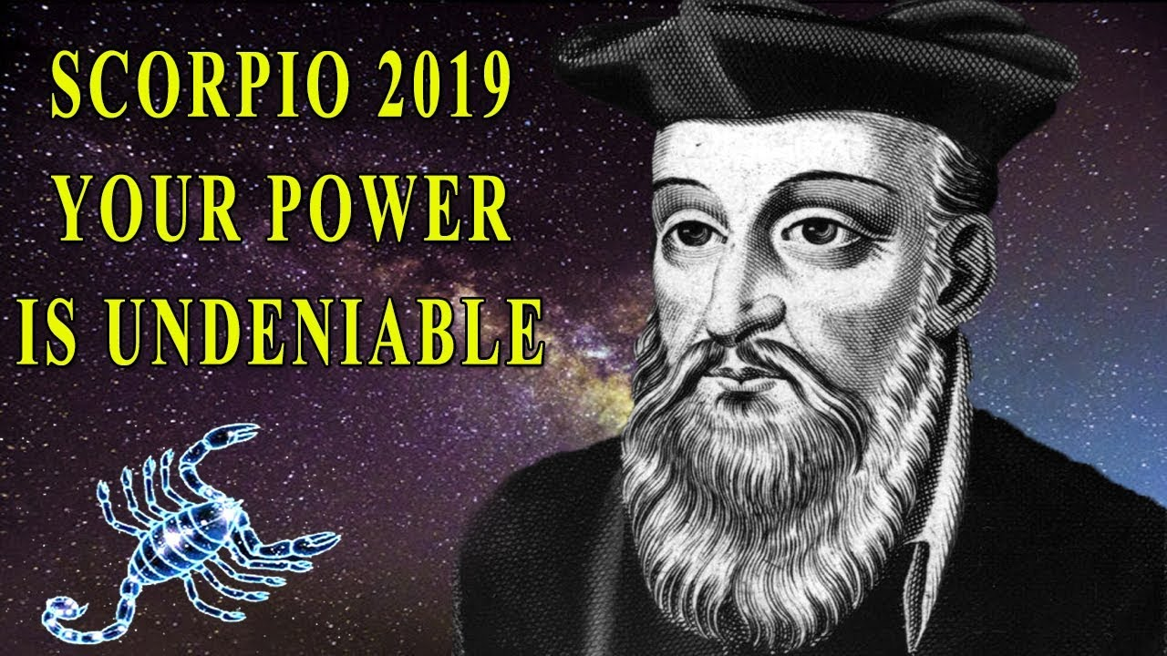 Scorpio 2019, Your power is undeniable - lucky sign