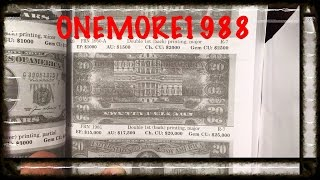 billete de 20 con valor de mas de 70000 usd