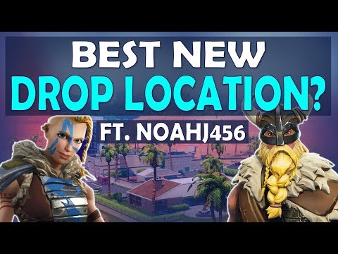 NEW BEST DROP LOCATION! | FAVORITE SPOT FOR HIGH KILLS AND LOOT - (Fortnite Battle Royale)