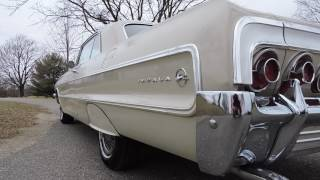 1964 chevy impala tan for sale at www coyoteclassics com