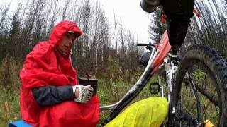 Осенняя Березовая. Велосплав. Bike & Kayak tour. Часть I, вело. HD