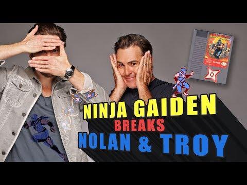 Ninja Gaiden Breaks Nolan North and Troy Baker
