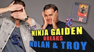 Ninja Gaiden Breaks Nolan North and Troy Baker
