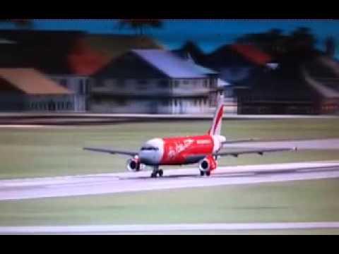 Animasi Jatuhnya Pesawat Air Asia QZ 8501 Terbaru - YouTube