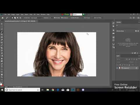 how to use the select and mask tool in photoshop cc